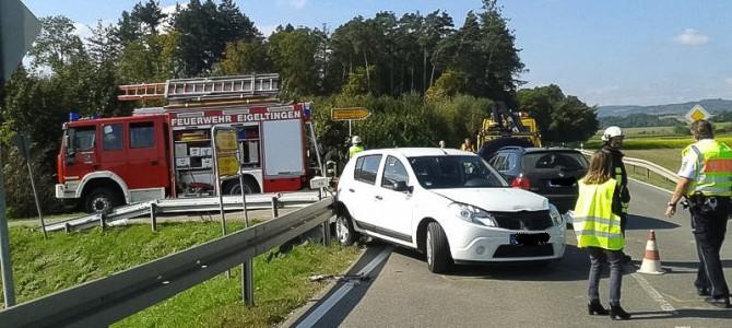 Verkehrsunfall B31 Richtung Nenzingen