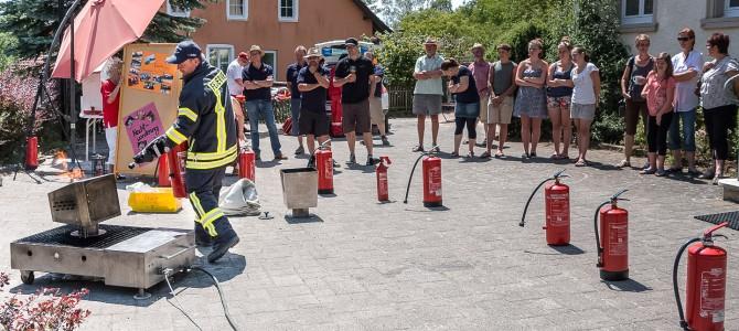 Brandschutztag in Homberg