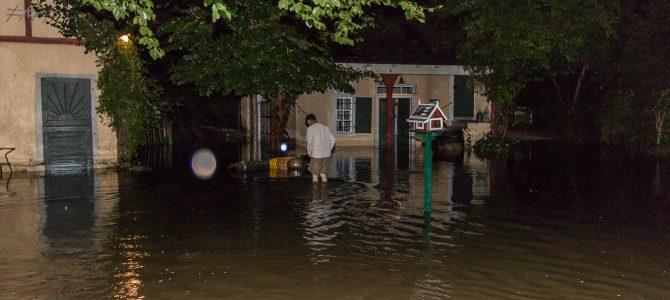 Hochwasser Stählemühle