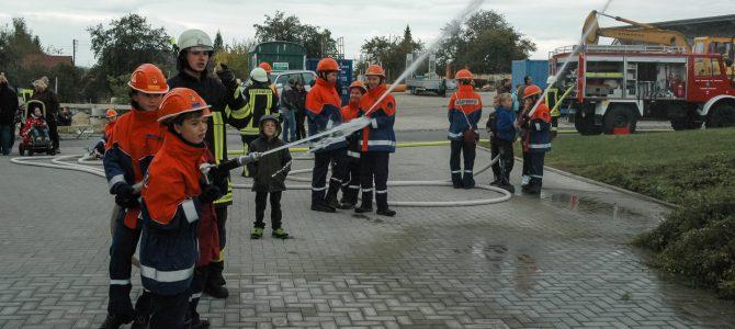 Schauübung der Jugendfeuerwehr 2016