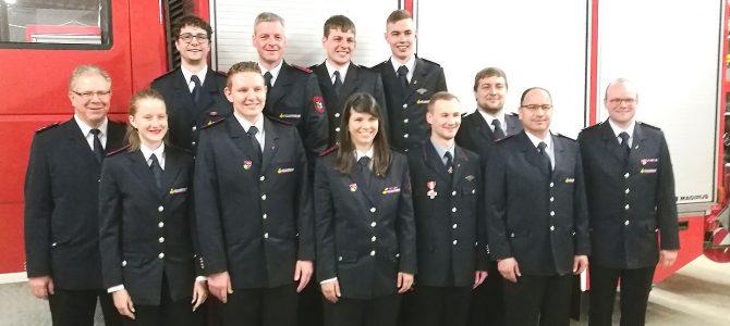 Generalversammlung der Feuerwehr Abteilung Eigeltingen