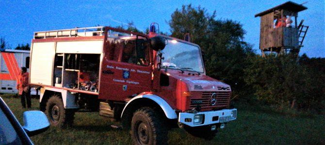 Feuerwehr hilft bei Rettungseinsatz