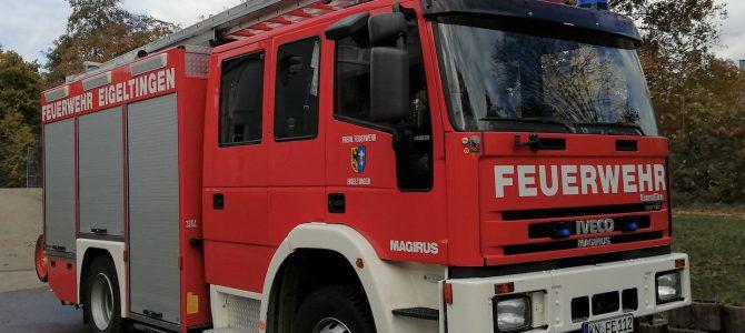 Feuerwehr wird wegen Arbeitsunfall alarmiert