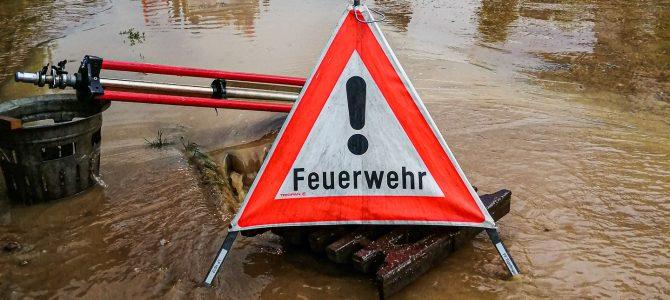 Unwetter Bernd führt auch in Eigeltingen zu Einsätzen der Feuerwehr