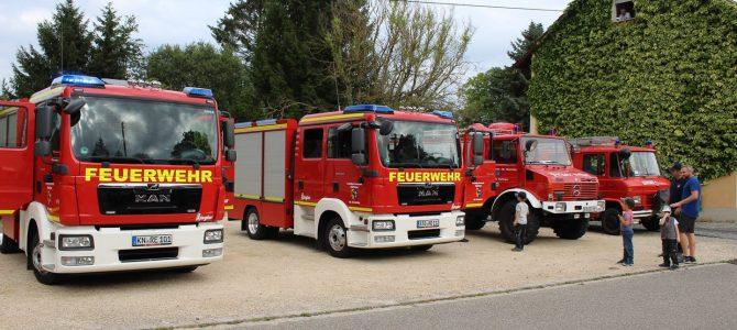 Die neuen Feuerwehrfahrzeuge für Reute und Honstetten sind da!